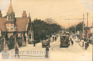 Princess Avenue, south end, from south, Hull 1905