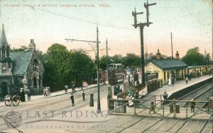 Princess Avenue and Botanic Gardens Railway Station, Hull 1907