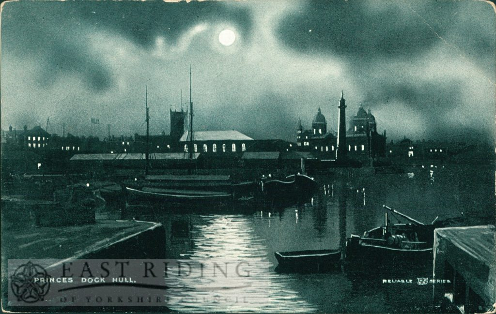 Princes Dock, Hull c.1900s