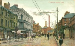 Prospect Street from south south east, Hull 1905