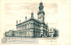 Town Hall from south east, Hull 1910