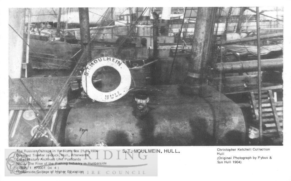 trawler, S T Moulmein, Hull 1904
