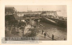 Victoria Pier, Hull 1900s