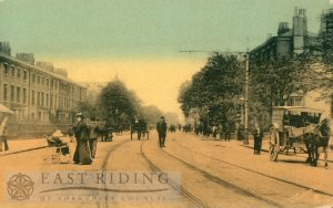 Beverley Road from south, Hull 1909