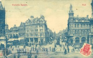 Victoria Square from west, Hull 1908