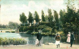West Park lake, Hull 1908