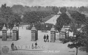 West Park from Anlaby Road, Hull 1919