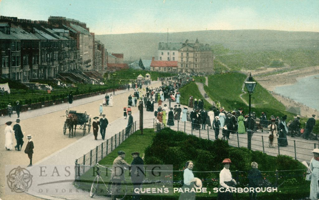Queen's Parade from south east, Scarborough 1900