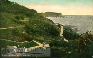 Holbeck Gardens, South Cliff, Scarborough 1910