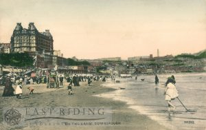South Bay and sands from south, Scarborough 1900s