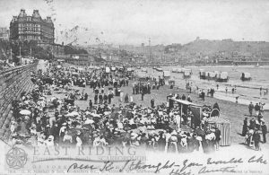 South Bay and pierrots, Scarborough 1903