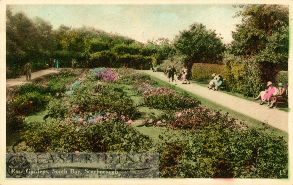 South Cliff Gardens, Rose Gardens, Scarborough 1933