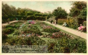 South Cliff Gardens, Rose Gardens, Scarborough 1933