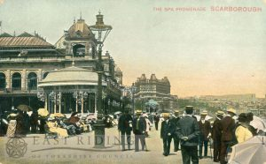 Spa Promenade from south, Scarborough 1900s