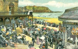 Spa Promenade and bandstand from south west, Scarborough 1905