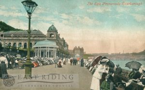 Spa Promenade from south, Scarborough 1909
