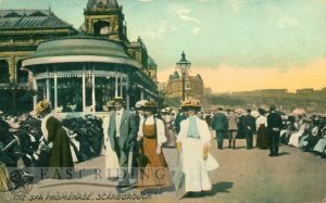 Spa Promenade from south, Scarborough 1910