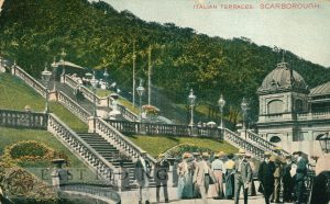 Spa, Italian Terraces, Scarborough 1910