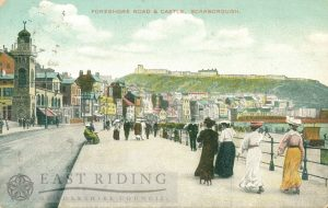South Foreshore and castle from south, Scarborough 1911