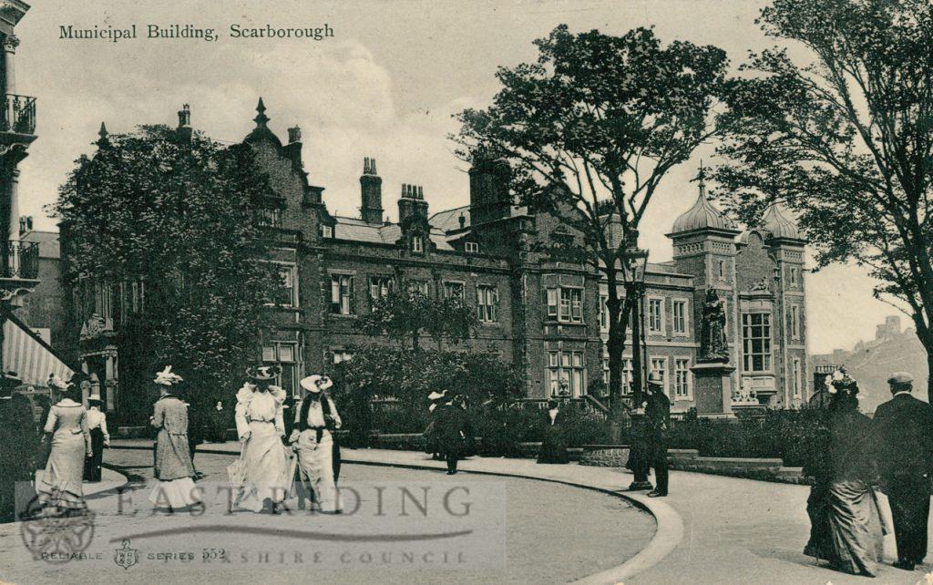 Town Hall, St Nicholas Street, Scarborough 1905