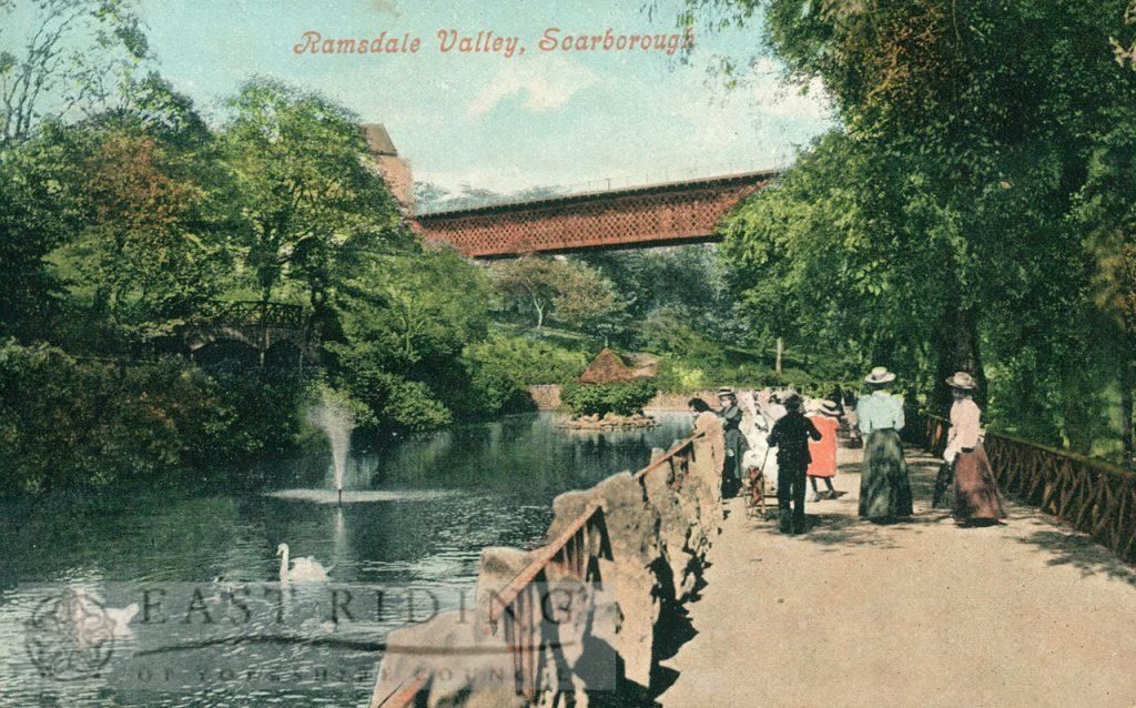 Ramsdale Valley gardens, Scarborough 1905