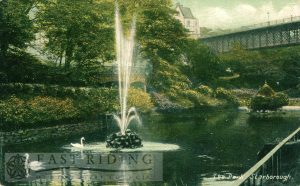 Ramsdale Valley gardens, Scarborough 1907