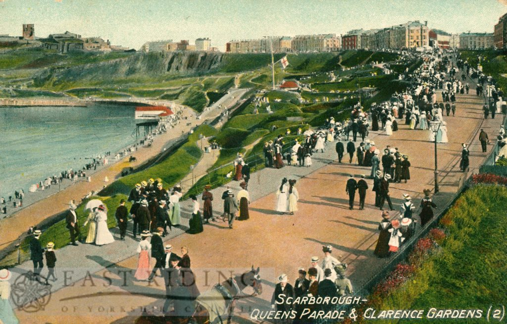 Queen's Parade and Clarence Gardens from north west, Scarborough 1910