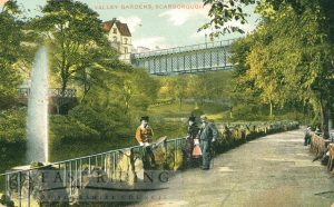 Ramsdale Valley gardens, Scarborough 1913