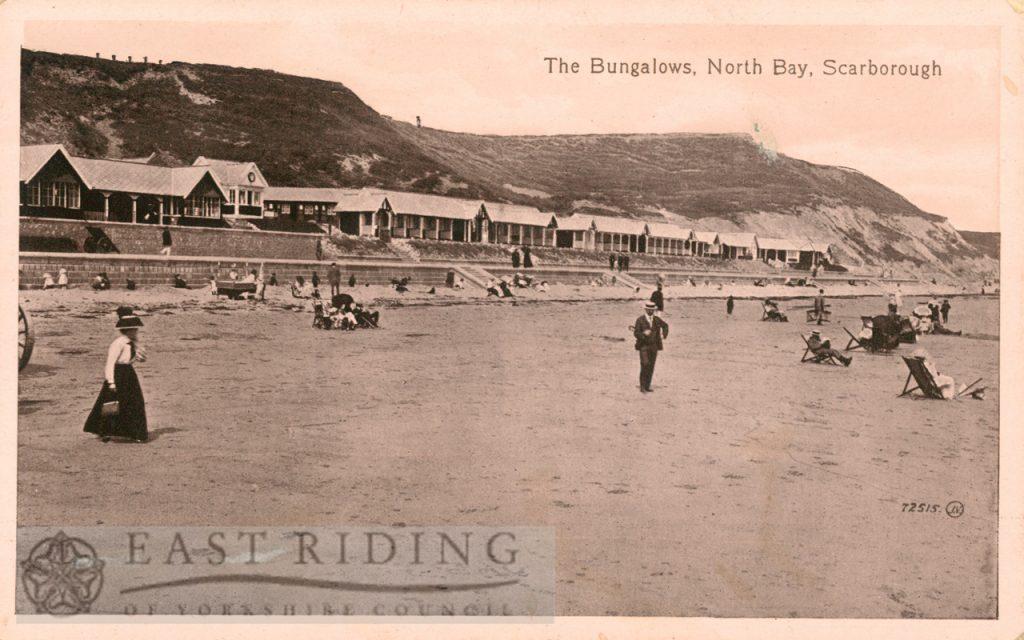 North Bay, bungalows, Scarborough 1910
