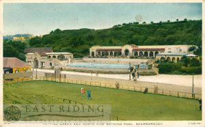 North Bay, bathing pool and putting green, Scarborough 1920s
