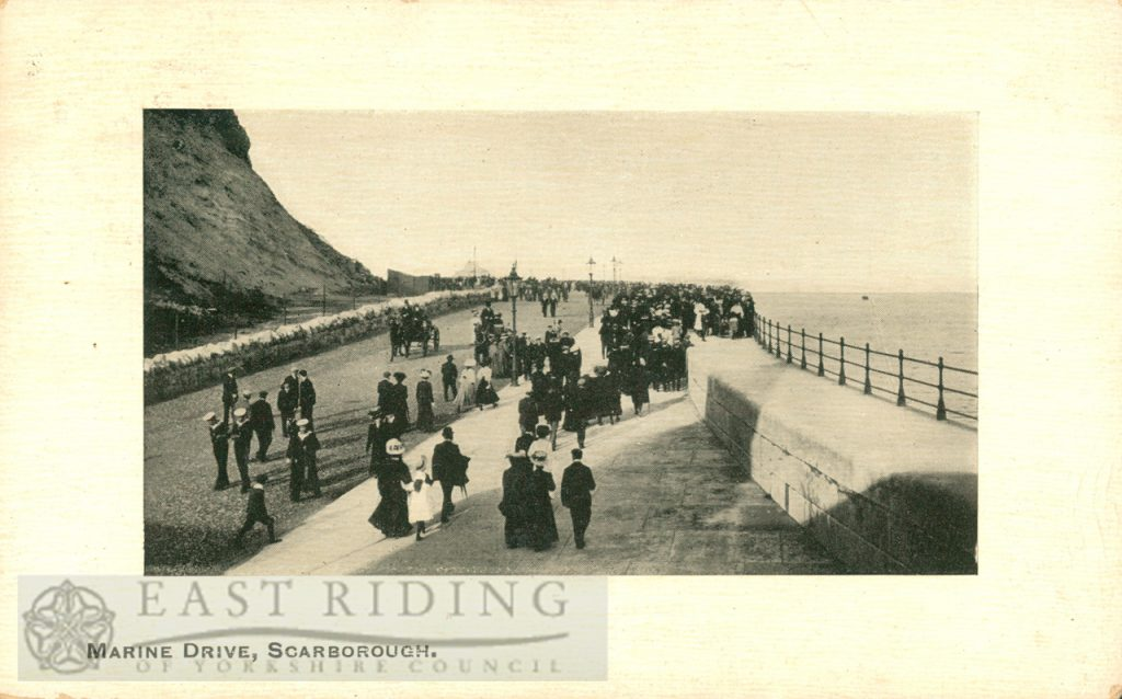 Marine Drive, Scarborough 1910