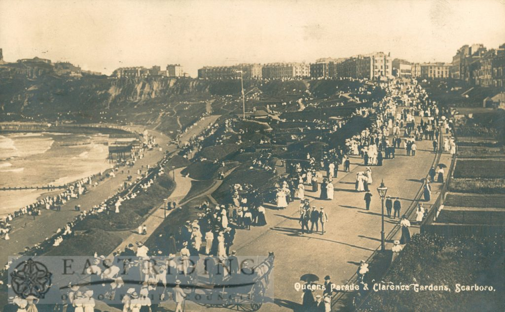 Queen's Parade and Clarence Gardens from north west, Scarborough 1913