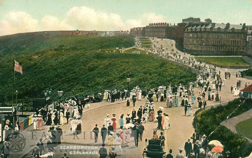 Esplanade from north east, Scarborough 1909