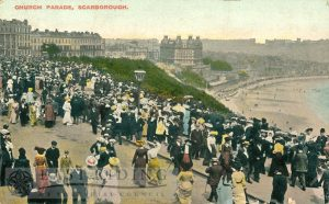 Esplanade, Church Parade, Scarborough 1913