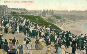 Esplanade, Church Parade, Scarborough 1913