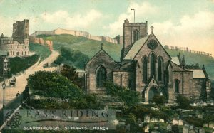 St Mary's Church from north west, Scarborough 1909
