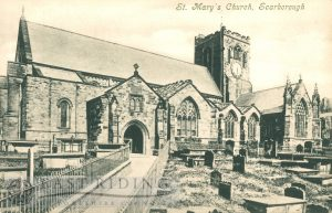 St Mary's Church from south west, Scarborough 1910