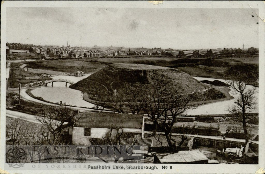 Peasholm Lake, Scarborough 1913