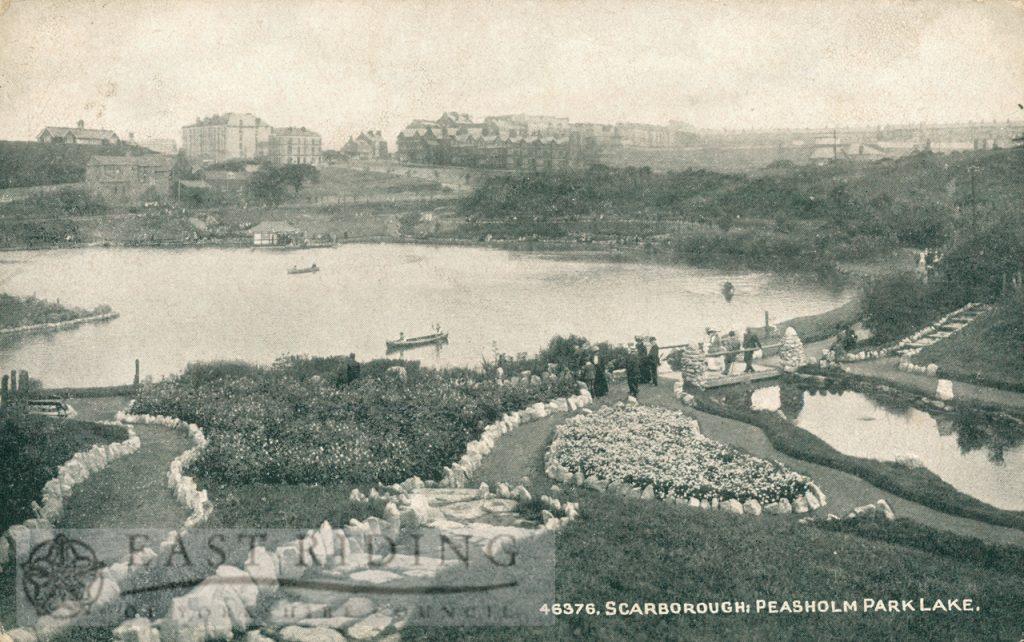 Peasholm Lake, Scarborough 1920