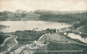 Peasholm Lake, Scarborough 1920