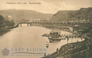 Peasholm Lake, Scarborough 1920s