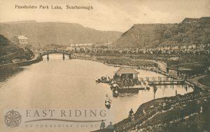 Peasholm Lake, Scarborough 1920s