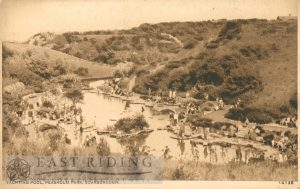 Peasholm Park, yachting pool, Scarborough 1920s