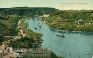 Peasholm Lake, Scarborough 1922