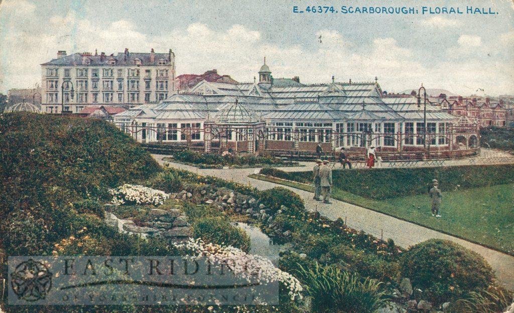 Floral Hall, Alexandra Gardens, Scarborough 1913