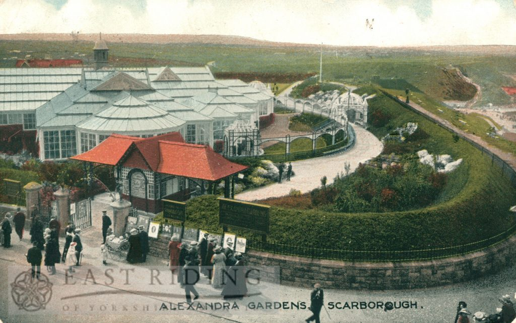 Floral Hall and Alexandra Gardens, Scarborough 1914