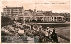 Floral Hall, Alexandra Gardens, Scarborough 1918