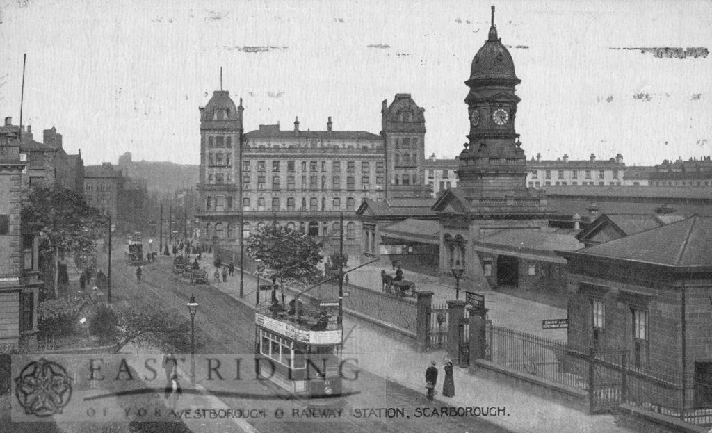 Railway Station, Westborough, Scarborough 1920