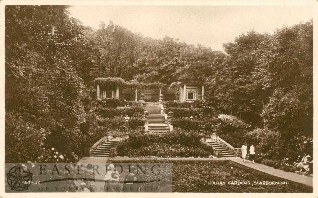 Italian Gardens, Scarborough 1926