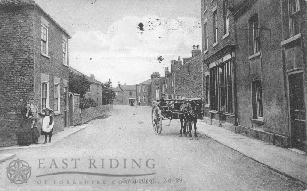Village street, Swinefleet 1924